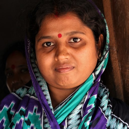 Kalpana Das is a Homemaker from Gadajit, Dampara, Cuttack, Odisha