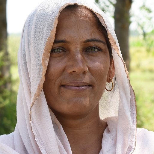 Kamlesh is a Farmer and homemaker from Rajpur, Ganaur, Sonipat, Haryana