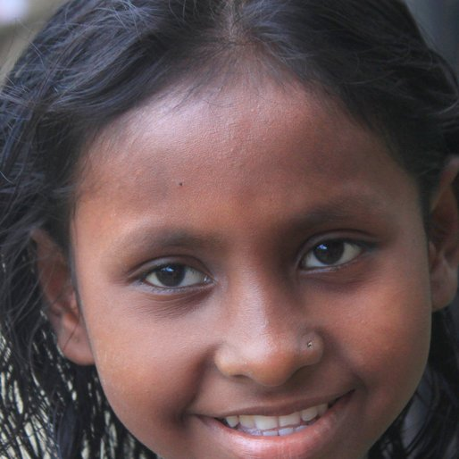 Karabi Dolui is a Student (Class 6) from Chandipur (Census town), Uluberia-I, Howrah, West Bengal