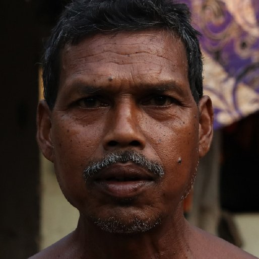 Kartika Chandra Munda is a Tenant farmer from Rajabasa, Bisoi, Mayurbhanj, Odisha