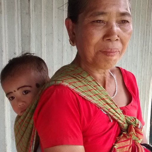 KHAKCHWNGTI KARBONG is a Domestic worker from Karbong Para, Jirania, West Tripura, Tripura