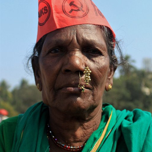 Lakshmibai Ramjeevan is a Farm labourer from Kharade, Shahapur, Thane, Maharashtra