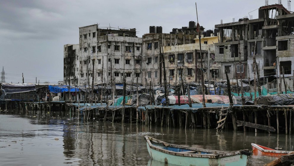 Extensive land reclamation and construction along the shore have decimated mangroves, altered water patterns and severely impacted Mumbai's fishing communities