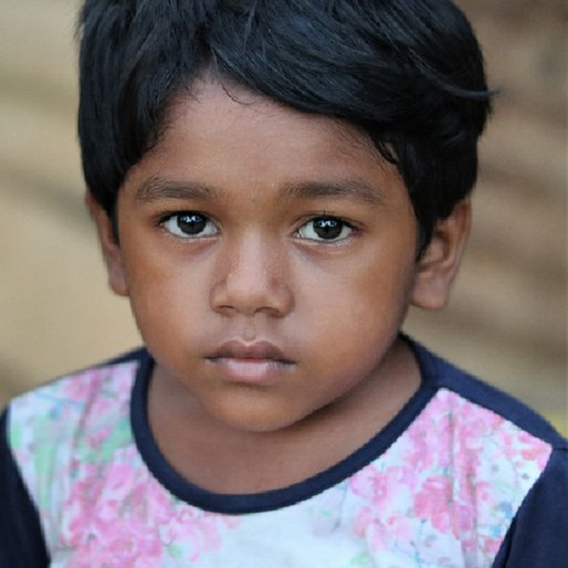 Manashi Singh is a Attends the local <em>anganwadi</em> from Harishchandrapur, Shamakhunta, Mayurbhanj, Odisha
