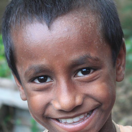 Mangal Hazra is a Student (Class 3) from Chandipur (Census town), Uluberia-I, Howrah, West Bengal