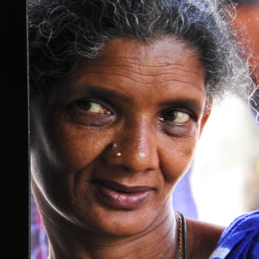 MANI AMMA is a Labourer from Kumily, Peermade, Idukki, Kerala