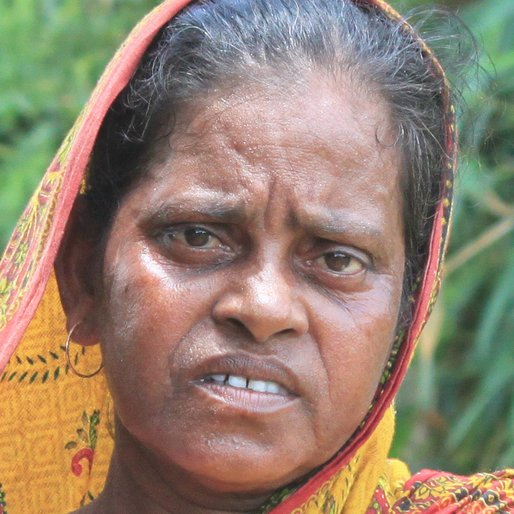 Manjusha Madina is a Daily wage labourer from Madina, Goghat-I, Hooghly, West Bengal