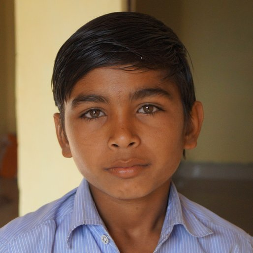 Manoj Meena is a School student from Panwar, Khanpur, Jhalawar, Rajasthan