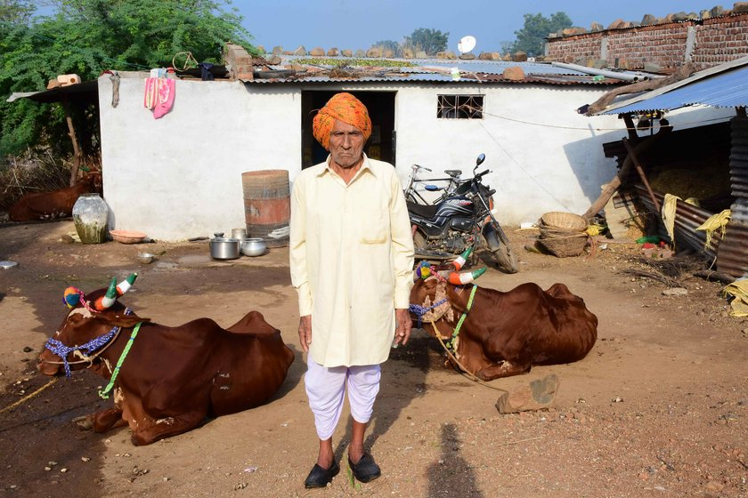 As a young man, Sukhlalji cultivated his 14-acre farmland, and his life revolved around cropping cycles, cattle and the seasons