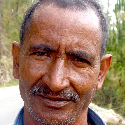 Jeevanand Ghetori is a Farmer from Paridhyana, Lohaghat, Champawat, Uttarakhand