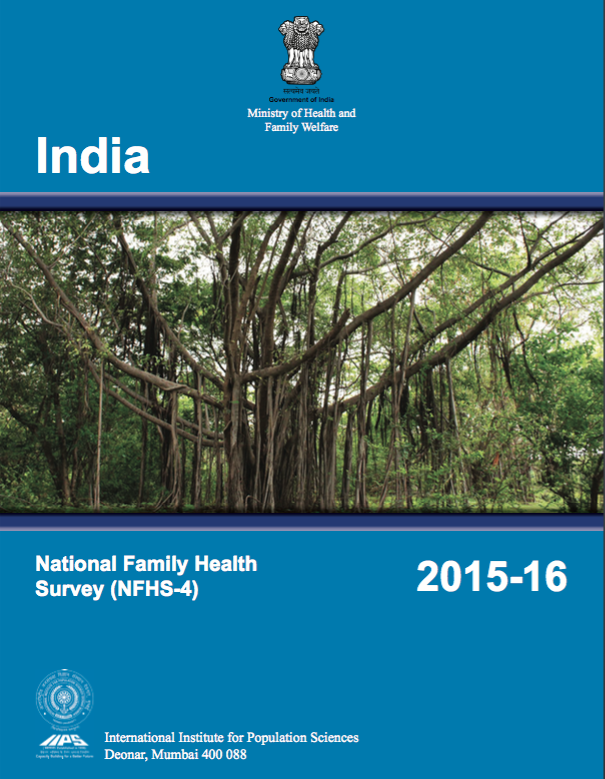 National Family Health Survey (NFHS-4) 2015-16: India