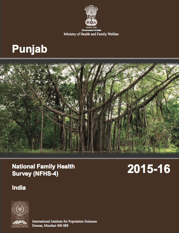 National Family Health Survey (NFHS-4) 2015-16: Punjab