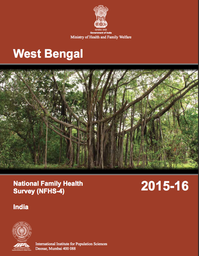 National Family Health Survey (NFHS-4) 2015-16: West Bengal
