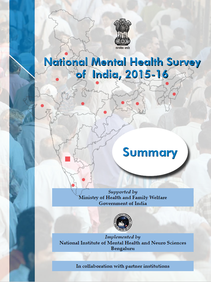 National Mental Health Survey of India, 2015-16: Summary