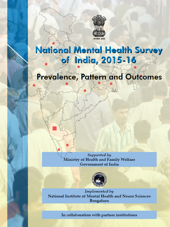 National Mental Health Survey of India, 2015-16: Prevalence, Patterns and Outcomes
