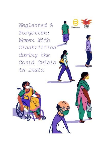 Neglected and Forgotten: Women with Disabilities during the Covid Crisis in India