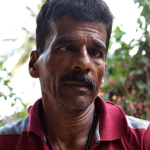 Nirmal Chandra Mandal is a Daily wage labourer at construction sites from Kesannagar, Cuttack Sadar, Cuttack, Odisha