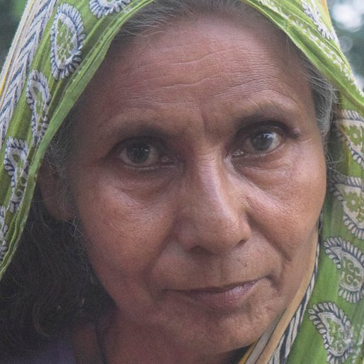 Noor Begum is a Daily wage labourer from Harindanga, Diamond Harbour-I, South 24 Parganas, West Bengal