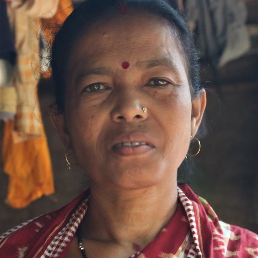 Padmavaati Parta is a Works at the local anganwadi from Andhari, Koliana, Mayurbhanj, Odisha