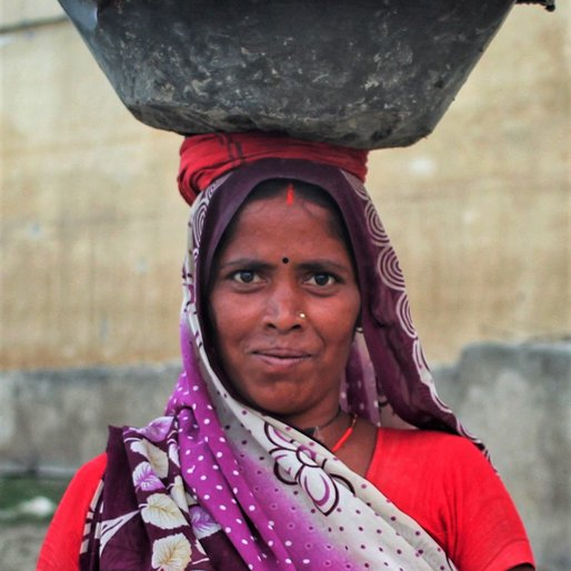 Rekha Devi is a Daily wage labourer at construction sites from Banbira, Morwa, Samastipur, Bihar