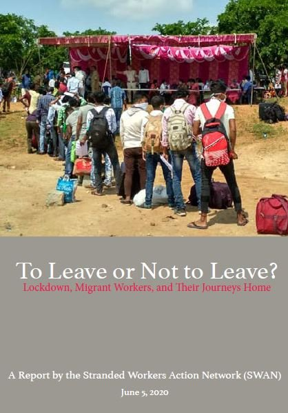To leave or not to leave? Lockdown, migrant workers, and their journeys home