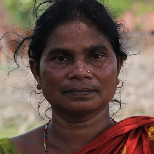 Sailendri Patra is a Daily wage labourer from Nebda, Jashipur, Mayurbhanj, Odisha