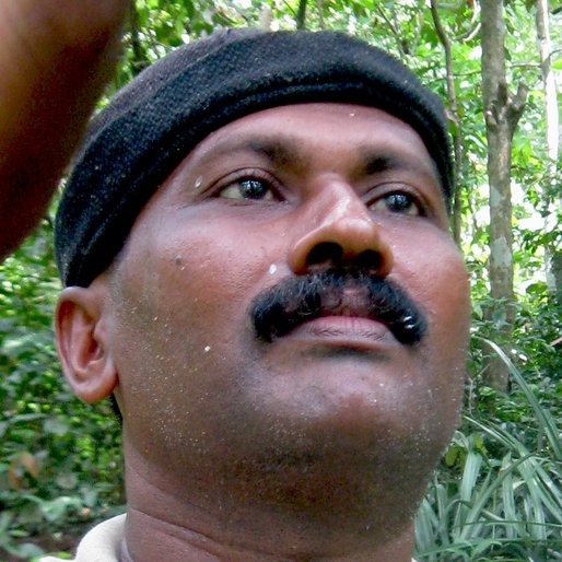 SAM DAVID is a Rubber tapper from Piravanthoor, Pathanapuram, Kollam, Kerala