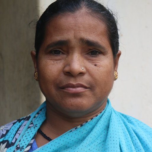 Sarojini Behera is a Domestic worker from Jyotipur, Champua, Kendujhar, Odisha