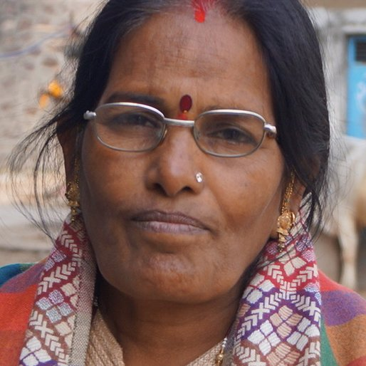 Sushila Goswami is a Auxiliary nurse midwife (ANM) from Dahi Khera, Khanpur, Jhalawar, Rajasthan