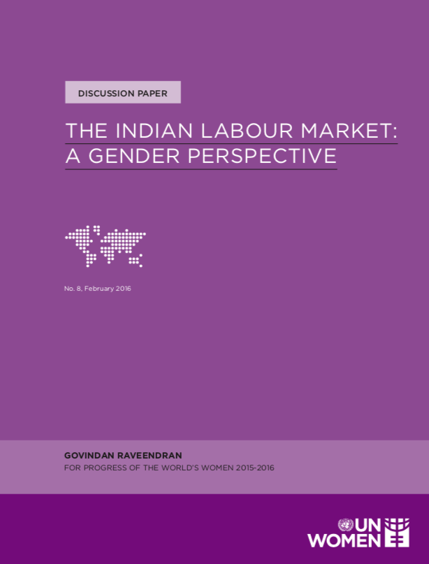 The Indian Labour Market: A Gender Perspective