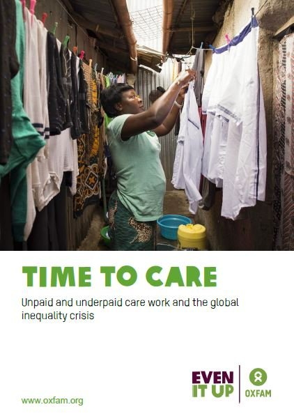 Time to Care: Unpaid and underpaid care work and the global inequality crisis
