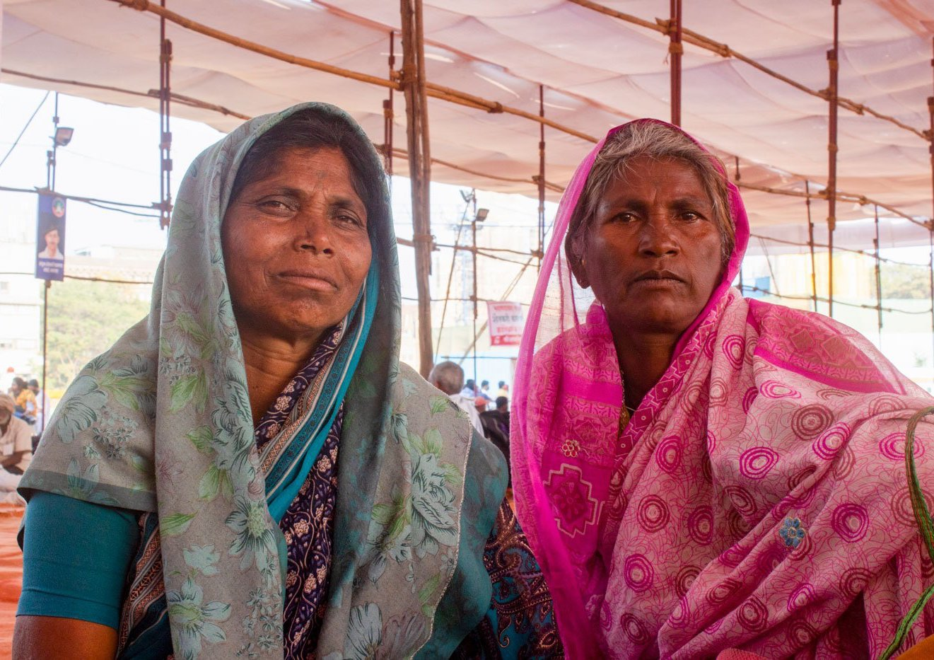 Arunabai and Shashikala – both widows from Adivasi communities, and farmers and farm labourers in Aurangabad district – came to Mumbai to protest against the new farm laws and demand their land titles