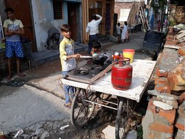'Swachh Bharat, and people still clean gutters?'