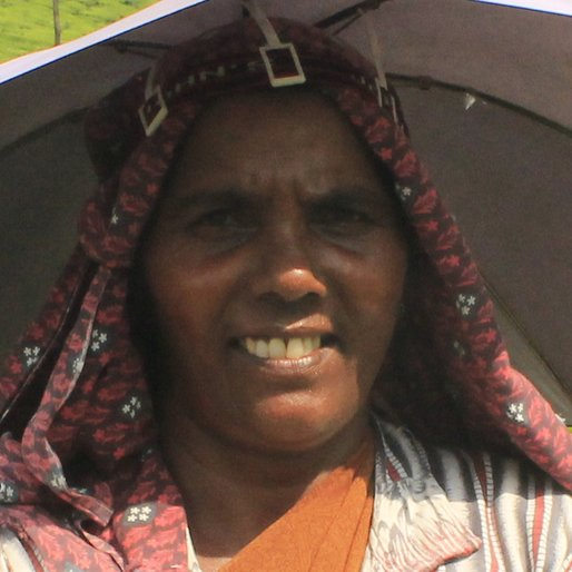 VASANTHAKUMARI RESAL is a Tea garden worker from Karimkulam Chappath, Kattappana, Idukki, Kerala