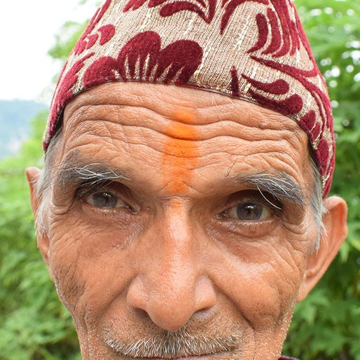 Virbahadhur Pradhan is a Retired tea estate worker from Bom Basti, Kalimpong-I, Kalimpong, West Bengal