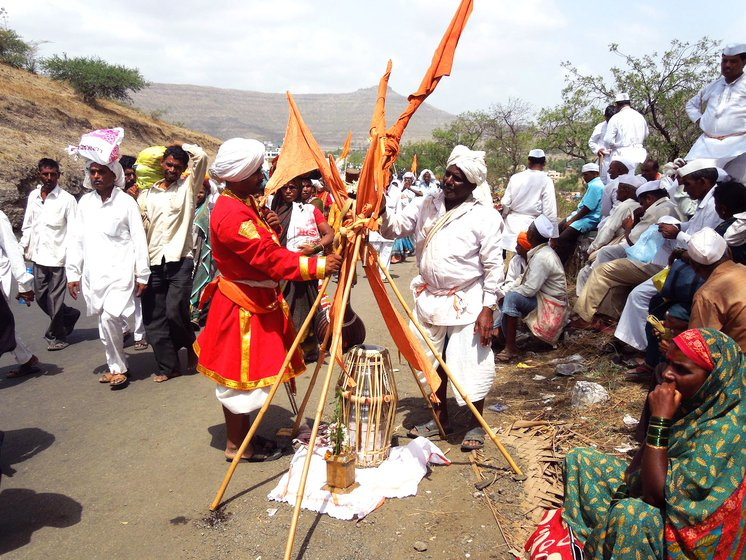 In July every year, lakhs of warkaris from all over Maharashtra walk a distance of around 240 kilometres from Dehu and Alandi to 'meet' their beloved Lord Vithoba and Rakhumai in Pandharpur in Solapur district.