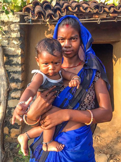 'I have heard that children get exchanged in hospitals, especially if it's a boy, so it's better to deliver at home', says Kajal Devi