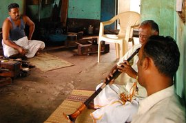 A song played on the nadaswaram