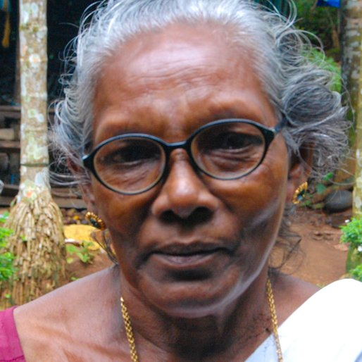 JANAKI KANAVALAN is a Homemaker from Alur, , Chalakkudy, Thrissur, Kerala