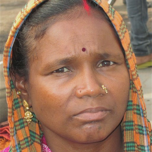 MELABAI is a Brick labourer from Pandariya, Raipur, Chhattisgarh