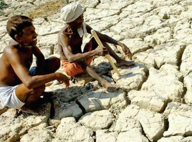 Farmers facing drought