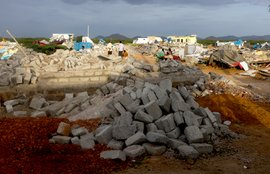 The fallen homes of Anantapur