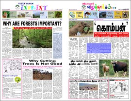 A newspaper from the forest of learning