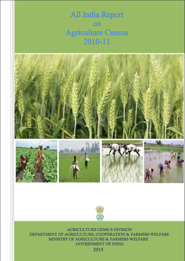 All India Report on Agriculture Census 2010-11