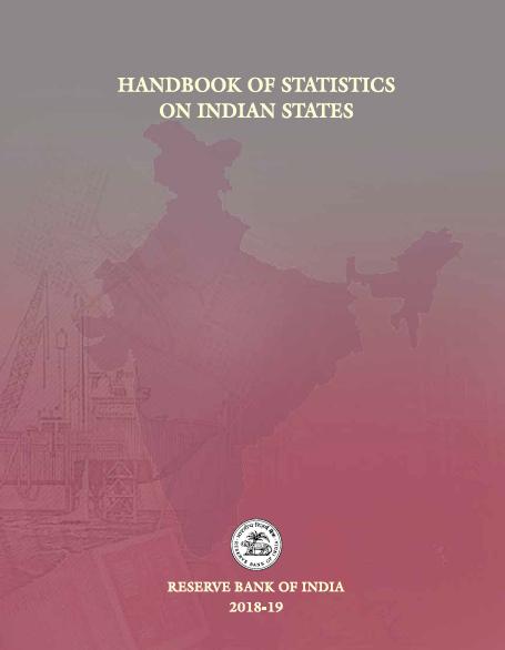 Handbook of Statistics on Indian States 2018-19