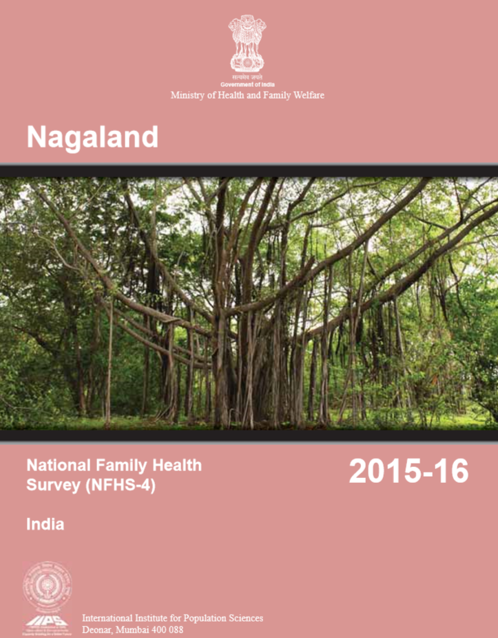 National Family Health Survey (NFHS-4) 2015-16: Nagaland