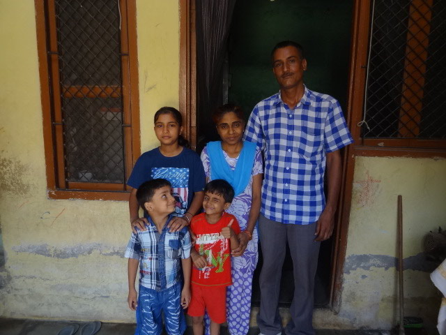 Vazir and family